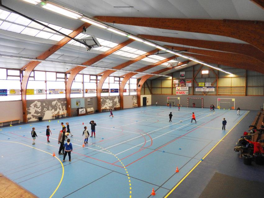 Salle de sports Steredenn à Taulé