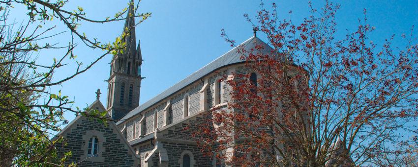 L'église de Taulé
