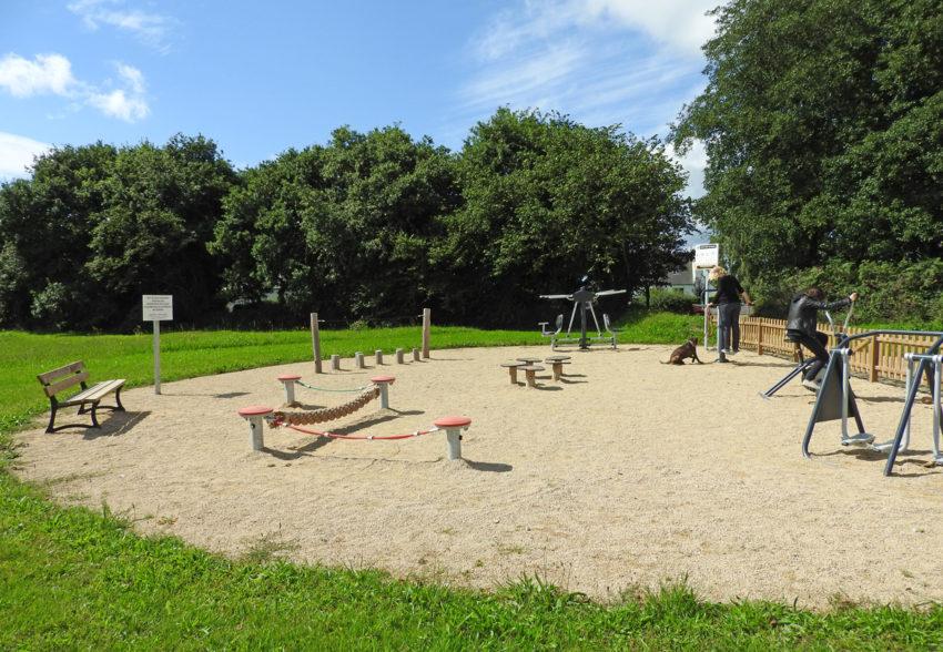 Fitness en plein air à Taulé