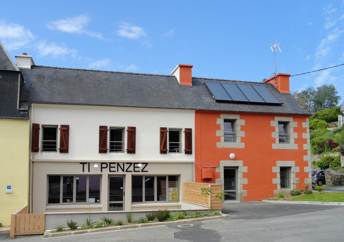 Le gîte d'étape de Penzé - Taulé en Bretagne