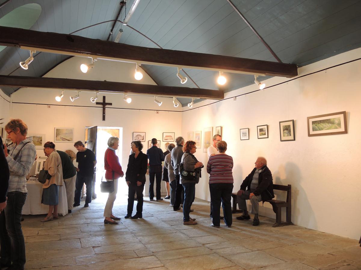 Expo à la chapelle Saint-Herbot