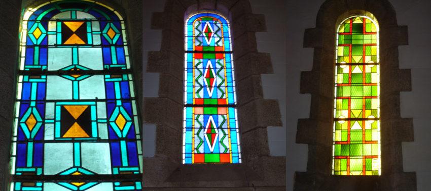 Vitraux de l'église Saint Pierre de Taulé