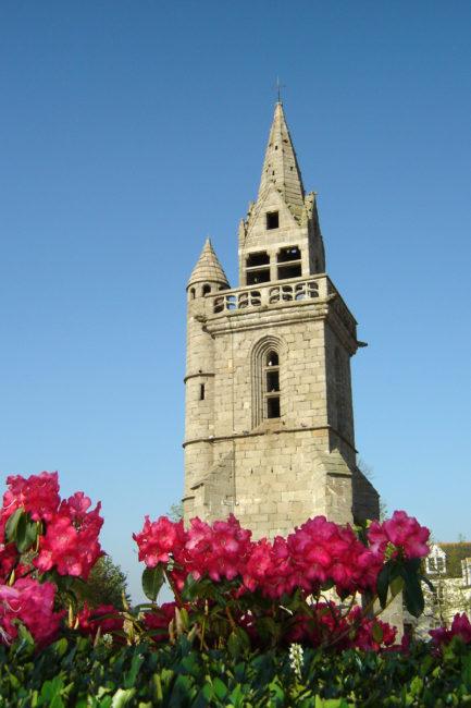 Le Vieux clocher de Taulé