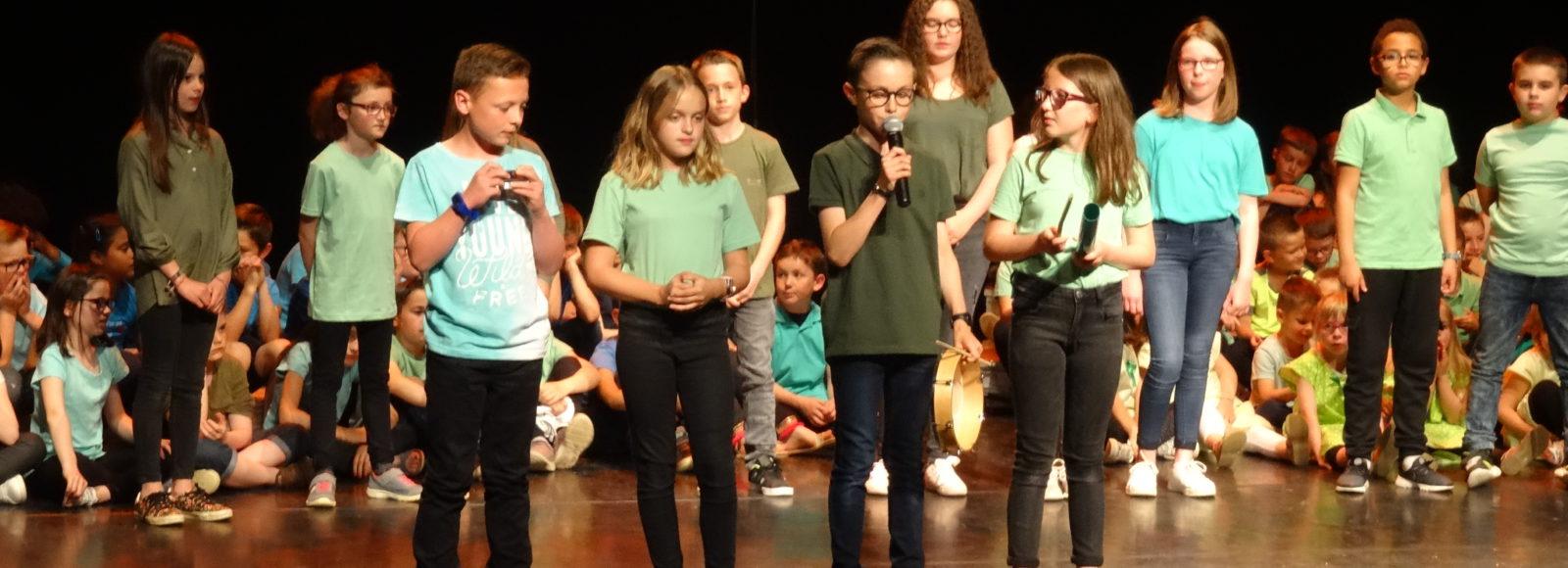 Comédie musicale <br>des élèves de Jean Monnet