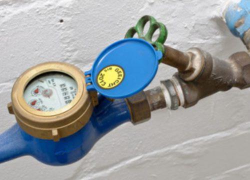 Relève des compteurs d'eau