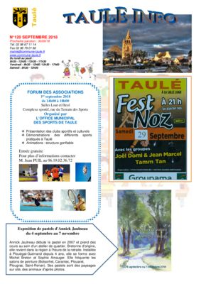 thumbnail of taule-info-120-septembre-2018