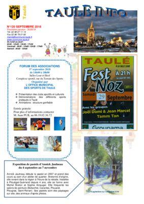 thumbnail of taule-info-120-septembre-2018