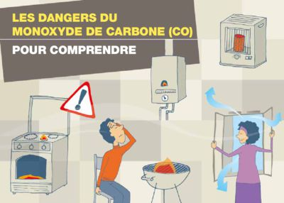 thumbnail of Les dangers du monoxyde de carbone INPES