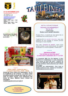 thumbnail of taule-info-123-decembre-2018