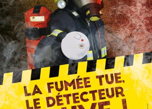 Le détecteur de fumée sauve des vies, équipez-vous !