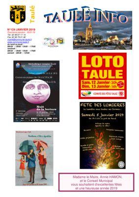 thumbnail of taule-info-124-janvier-2019