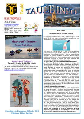 thumbnail of taule-info-125-février-2019