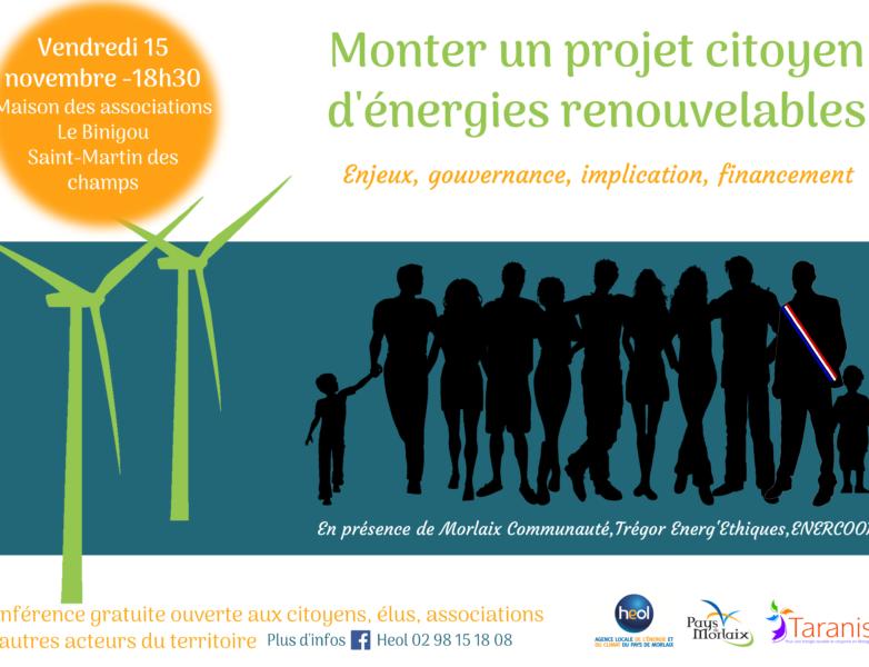 Réunion publique d'information sur les projets citoyens d'énergies renouvelables
