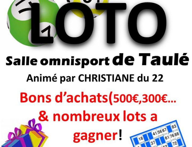 Loto du club Taulé-Carantec Handball