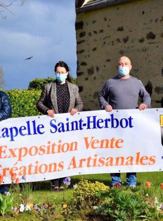 Exposition-vente de créations artisanales à la chapelle Saint Herbot
