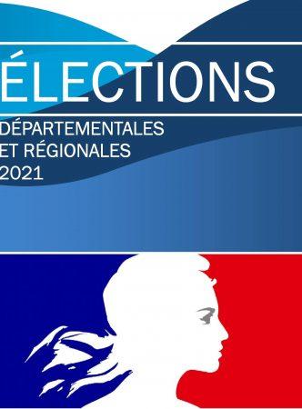 Élections régionales et départementales les 20 et 27 juin 2021