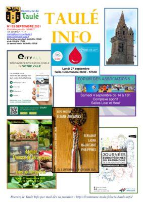 thumbnail of taule_info_153_septembre_2021-8